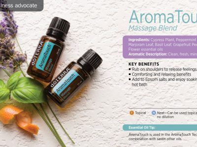 Synergie massage Aromatouch